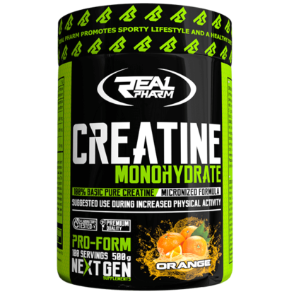 Real Pharm Creatine Monohydrate - 500 g orange