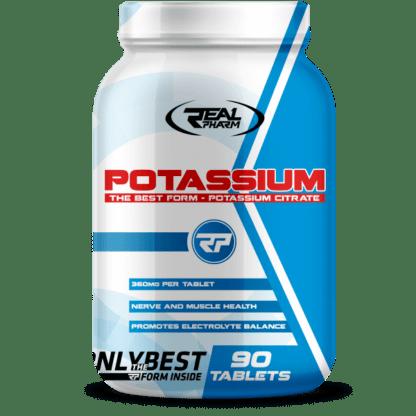 Real Pharm Potassium - 90 tabletek