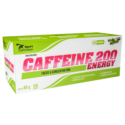Sport Definition Caffeine 200 ENERGY - 120 kaps.
