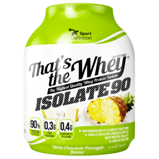 Sport Definition That's the Whey ISOLATE 2000-2270g - ananas biala czekolada
