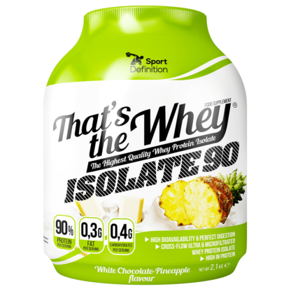 Sport Definition That's the Whey ISOLATE 2000-2270g - ananas biala czekolada