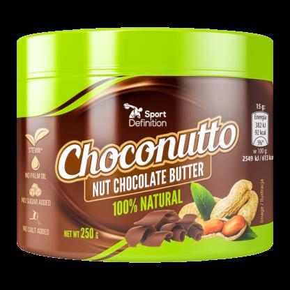 Sport Definition choconutto krem orzechowo-czekoladowy 250g