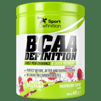 Sport definition BCAA Definition 465g - malina wisnia