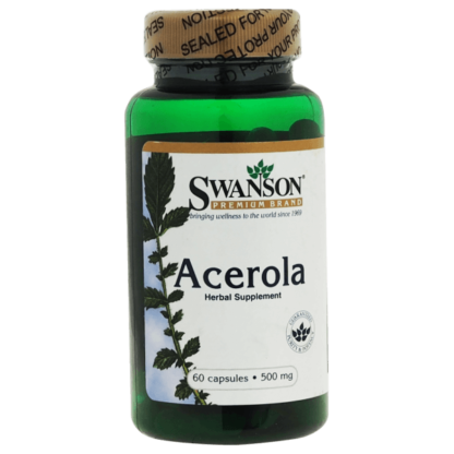 Swanson Acerola 500mg - 60 kaps
