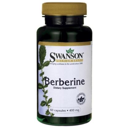 Swanson Berberine 400mg - 60 kaps