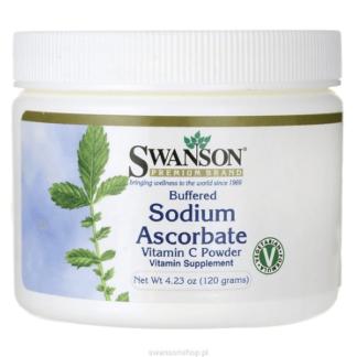 Swanson Buffered Sodium Ascorbate Vitamin C Powder - 120 g