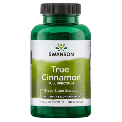 Swanson Full Spectrum True Cinnamon - 120 kaps