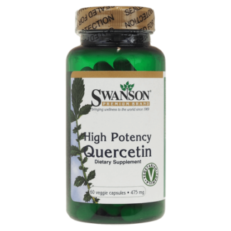 Swanson High Potency Quercetin 475mg - 60 kaps