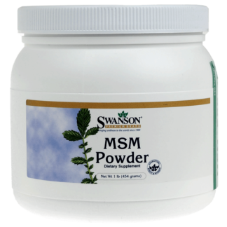 Swanson MSM Powder - 454g