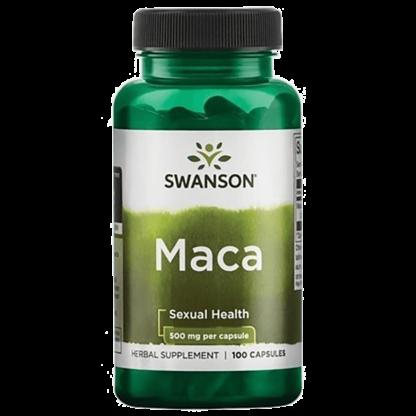 Swanson Maca 500mg - 100 kaps