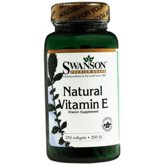 Swanson Natural Vitamin E 200 IU - 250 kaps