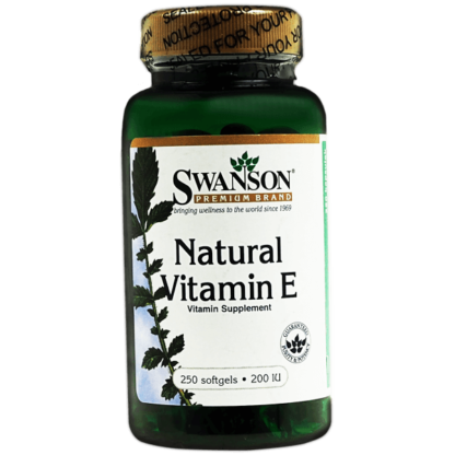 Swanson Natural Vitamin E 200 IU - 250 kaps