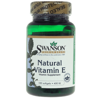 Swanson Natural Vitamin E 400 IU