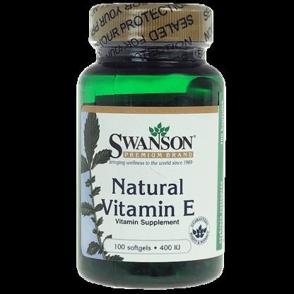 Swanson Natural Vitamin E 400 IU
