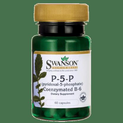 Swanson P-5-P (pyridoxal-5-phosphate) Coenzymated B6 - 60 kaps