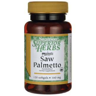 Swanson Saw Palmetto 160mg - 120 kaps