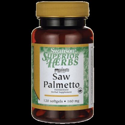 Swanson Saw Palmetto 160mg - 120 kaps