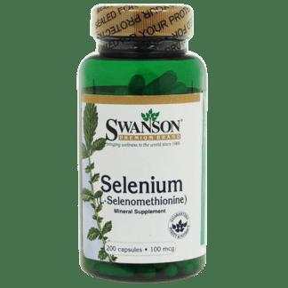 Swanson Selenium 100mcg
