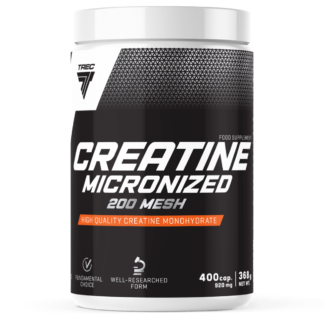 Trec Creatine Micronized 200 MESH - 400 kaps