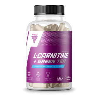 Trec L-Carnitine + Green Tea - 180 kaps