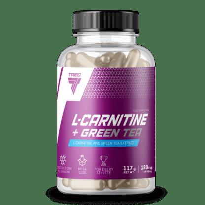Trec L-Carnitine + Green Tea - 180 kaps