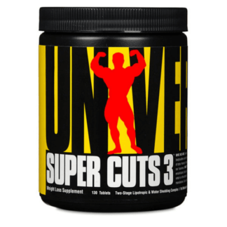 Universal Nutrition Super Cuts 3 - 130 tabl