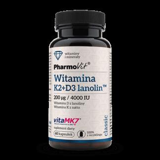 Pharmovit Witamina K2Mk7 + D3 - 60 kaps.