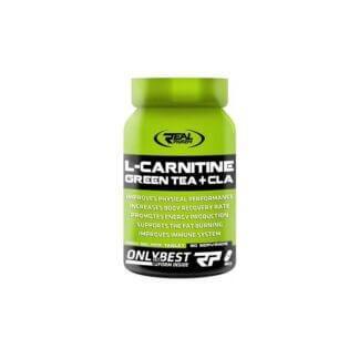 Real Pharm L-Carnitine Green Tea + CLA - 90 tabl.