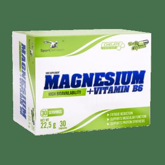 Sport Definition Magnesium + Vitamin B6 - 30 kaps.