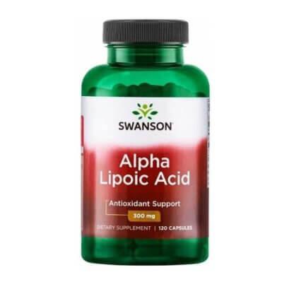 Swanson Alpha Lipolic Acid 300mg 120 kaps