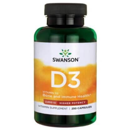 Swanson Vitamin D3 2000 IU