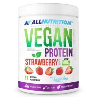 AlllNutrition-Vegan-Protein-Truskawka-500g