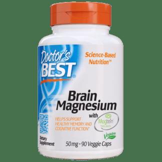 Doctors Best Brain Magnesium with MAGTEIN 50mg - 90 kaps.