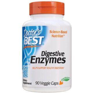 Doctor's Best Digestive Enzymes - 90 kaps.