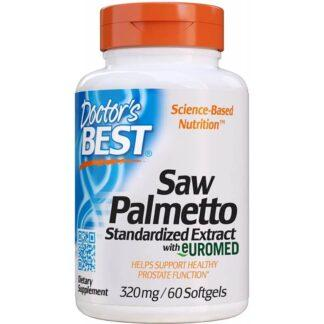 Doctor's Best SawPalmetto - 60 kaps.