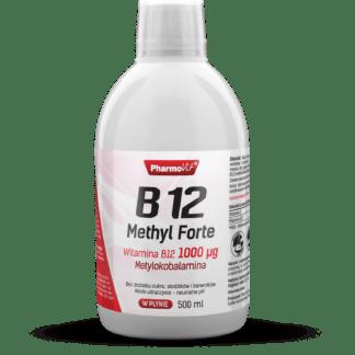 Pharmovit B12 Methyl Forte 1000ug (Witamina B12 w Płynie) - 500ml