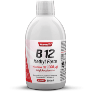 Pharmovit B12 Methyl Forte 1000ug (Witamina B12 w Płynie) - 500ml