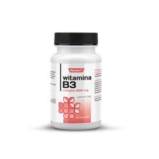 Pharmovit Witamina B3 Niacyna - 60 kaps.