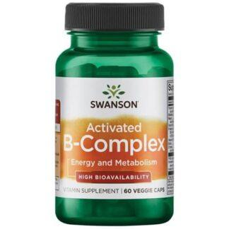 Swanson Activated B-Complex - 60kaps