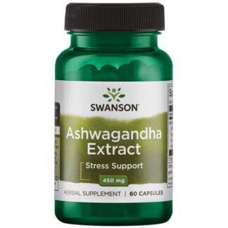 Swanson Ashwagandha Ekstrakt - 60 kaps