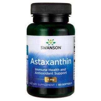 Swanson Astaksantyna 4mg - 60 kaps