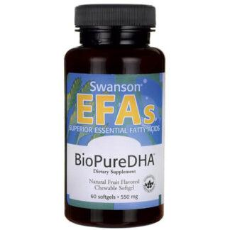 Swanson BioPure DHA 550mg - 60 kaps