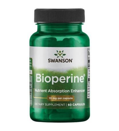 Swanson Bioperine 10mg - 60 kaps