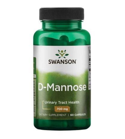 Swanson D-mannoza 700mg - 60 kaps