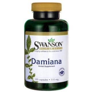Swanson Damiana 510mg - 100 kaps
