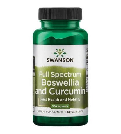 Swanson FS Boswellia & Curcumin - 60 kaps