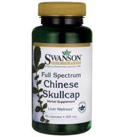 Swanson FS Chinese Skullcap 400mg - 90 kaps