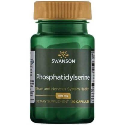 Swanson Fosfatydyloseryna 100mg - 30 kaps.