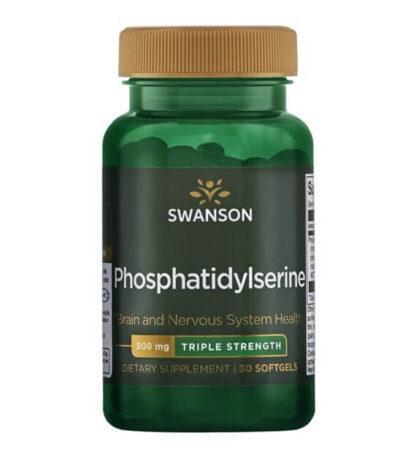 Swanson Fosfatydyloseryna potrójna moc - 30 kaps