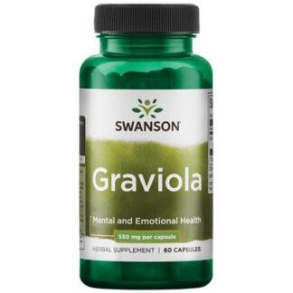 Swanson Graviola 530mg - 60 kaps